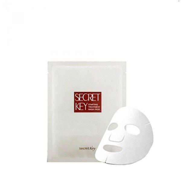 Starting Treatment Essential Mask Pack - Отбеливающая маска для лица