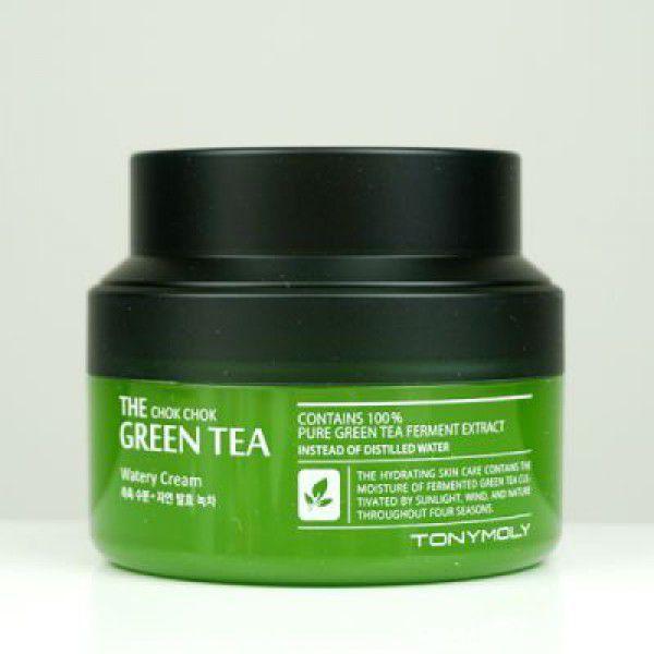 The Chok Chok Green Tea Watery Cream - Крем с экстрактом зеленого чая