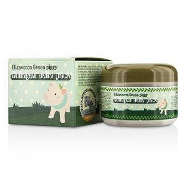 Green piggy Collagen Jella Pack - Маска коллагеновая