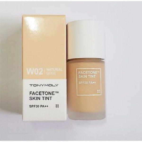 Facetone Skin Tint W02 - Тональная основа