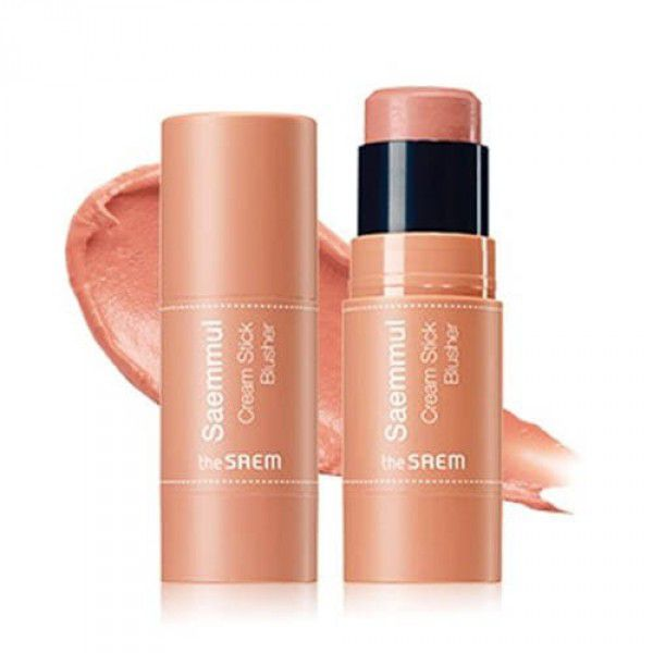 Saemmul Cream Stick Blusher CR01 Coral Ending - Румяна