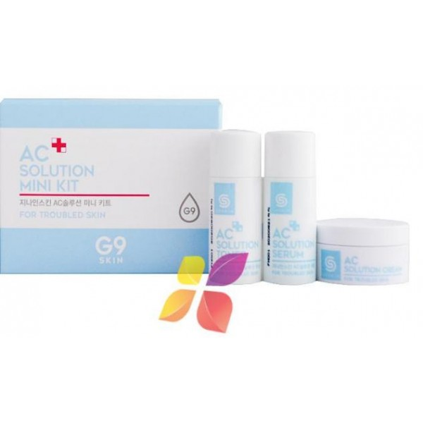 Ac Solution Mini Kit - Набор миниатюр для проблемной кожи