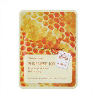 TonyMoly Pureness 100 Propolis Mask Sheet - Маска с прополисом