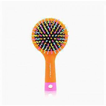 TonyMoly Volume S Curl Brush1 (Orange + Skyblue) - Расческа для волос