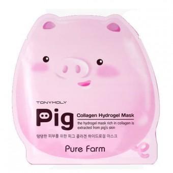 TonyMoly Pure Farm Pig Collagen Mask - Маска с коллагеном