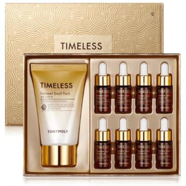 Timeless Ferment Snail Ampoule Set - Ампульный набор для лица