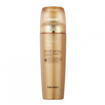 TonyMoly Intense Care Gold 24K Snail Toner - Тонер для лица