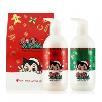 TonyMoly Merry Atom Milky Body Couple Set - Набор для тела