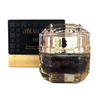 D'beaucer Royal de Caviar Capsule Cream - Крем для лица капсульный с черной икрой