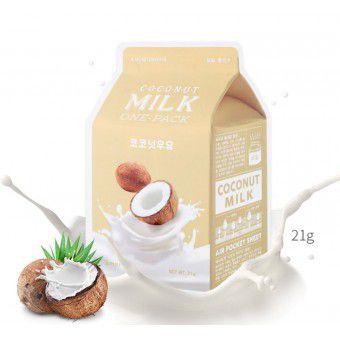 A'pieu Coconut Milk One-Pack - Кокосовая маска для лица