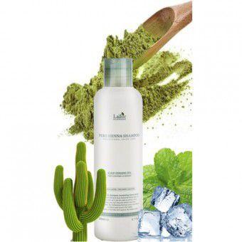La'dor Pure Henna Shampoo - Шампунь для волос с хной укрепляющий