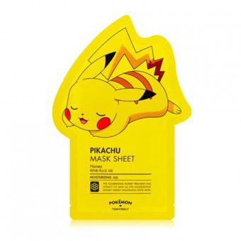 TonyMoly Pikachu Mask Sheet ( Pokemon Edition) - Тканевая маска с мёдом