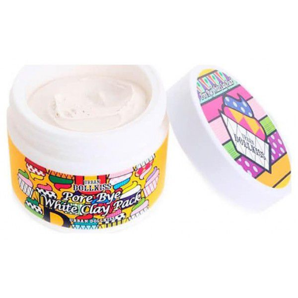 Urban Dollkiss Pore Bye White Clay Pack - Маска очищающая с белой глиной
