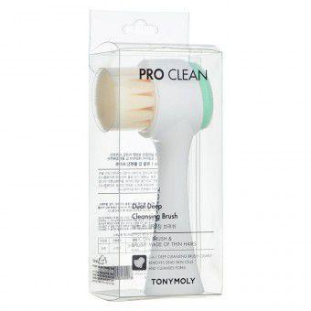 TonyMoly Pro Clean Dual Deep Cleansing Brush - Щёточка для глубокого очищения лица