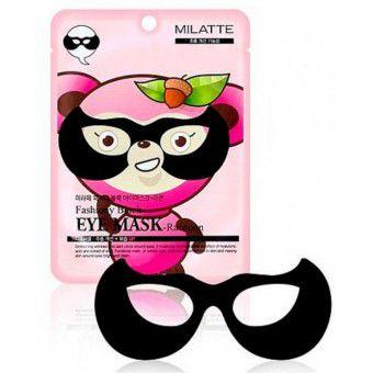 Milatte Fashiony Black Eye Mask-Raccoon - Маска от морщин вокруг глаз