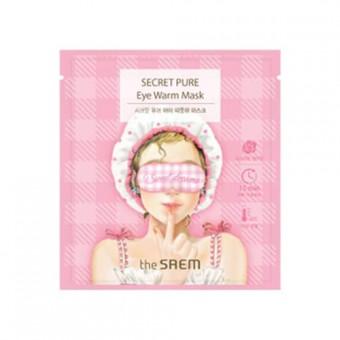 The Saem Secret Pure Eye Warm Mask - Тепловая маска для кожи вокруг глаз