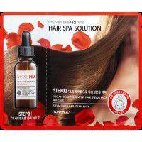 Make HD Argan Rose Hair Pack - Паровая маска для волос