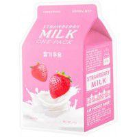 Strawberry Milk One-Pack - Клубничная маска для лица
