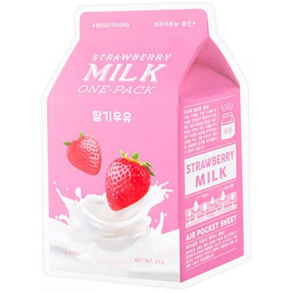 Купить Strawberry Milk One-Pack - Клубничная маска для лица, A'pieu