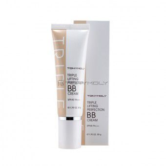 TonyMoly Triple Lifting Perfection BB Cream - Укрепляющий кожу ББ крем с лифтинг действием