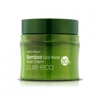 TonyMoly Pure Eco Bamboo Cold Water Moist Cream - Крем увлажняющий с экстрактом бамбука