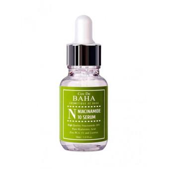 Cos De Baha Niacinamide 10 Serum - Сыворотка противовоспалительная для жирной кожи