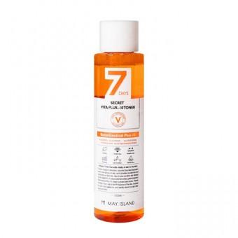 May Island 7 Days Secret Vita Plus-10 Toner - Витаминизированный тонер