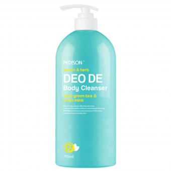 Evas Pedison Lemon & Herb Deo De Body Cleanser - Гель для душа лимон и мята