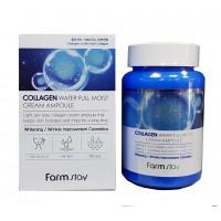 Collagen Water Full Moist Cream Ampoule - Крем ампульный для лица с коллагеном
