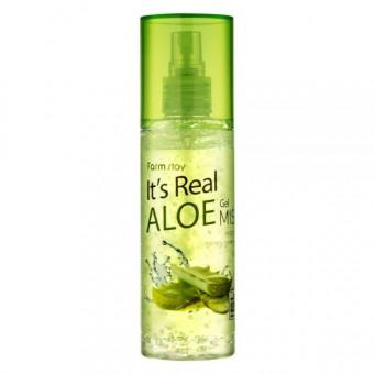Farm Stay It's Real Gel Mist Aloe - Мист для лица с экстрактом алоэ