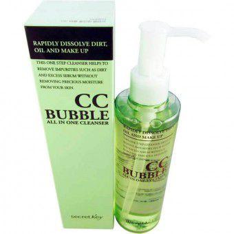 Secret Key CC Bubble All in One Cleanser - Средство для снятия бб- и сс-макияжа