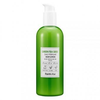 Farm Stay Green Tea Seed Daily Perfume Body Lotion - Лосьон для тела с экстрактом семян зеленого чая