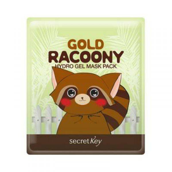 Gold Racoony Hydrogel Mask Pack - Гидрогелевая омолаживающая маска