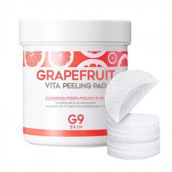Berrisom G9Skin Grapefruit Vita Peeling Pad - Ватные диски для пилинга