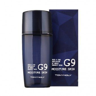 TonyMoly G9 Moisture Skin - Тонер увлажняющий для мужчин