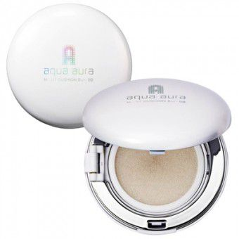 TonyMoly Aqua Aura Moist Cushion Sun BB 01 - ББ пудра