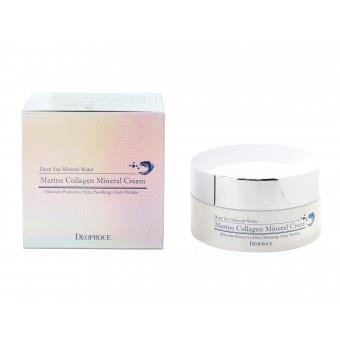 Deoproce Marine Collagen Mineral Cream - Минеральный крем с морской водой и коллагеном