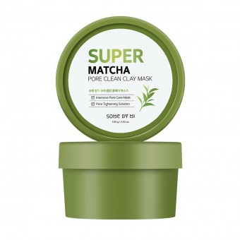 Some By Mi Super Matcha Pore Clean Clay Mask - Очищающая глиняная маска с чаем матча