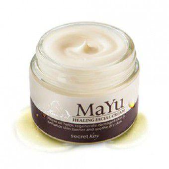 Secret Key Mayu Healing Facial Cream - Питательный крем для лица