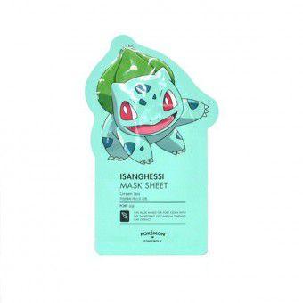 TonyMoly Isanghessi Mask Sheet ( Pokemon Edition) - Тканевая маска с зелёным чаем