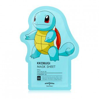 TonyMoly Kkobugi Mask Sheet ( Pokemon Edition) - Тканевая маска с лотосом