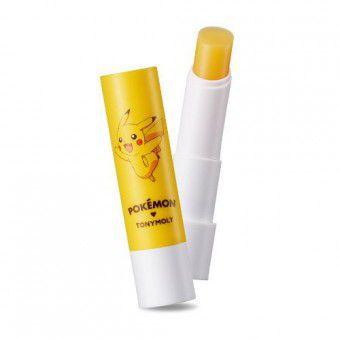 TonyMoly Pokemon Lip Care Stick ( Pokemon Edition ) Pika Pika Mango - Бальзам для губ