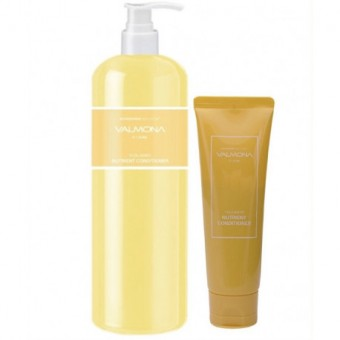 Evas Valmona Nourishing Solution Yolk-Mayo Nutrient Conditioner - Питательный кондиционер для волос