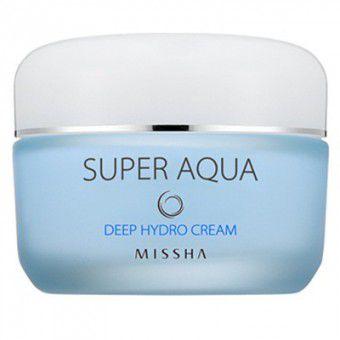 Missha Super Aqua Deep Hydro Cream - Увлажняющий крем для лица