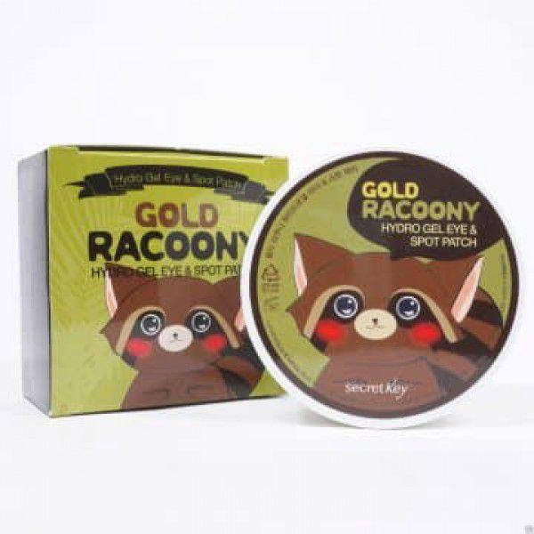Gold Racoony Hydrogel Eye & Spot Patch - Патчи для глаз с енотом