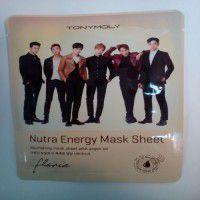 Floria Nutra Energy Mask Sheet - Тканевая маска с аргановым маслом