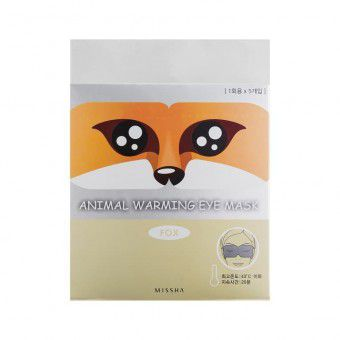 Missha Animal Warming Eye Mask_Fox (Chamomile Fragrance) - Маска для глаз