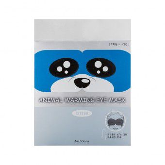 Missha Animal Warming Eye Mask_Otter (Fragrance Fragrance) - Маска для глаз