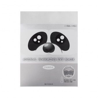 Missha Animal Warming Eye Mask_Panda (Lavender Fragrance) - Маска для глаз