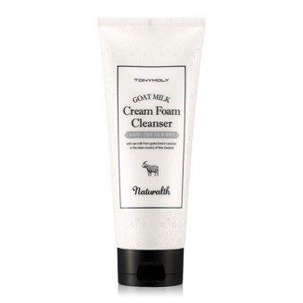 TonyMoly (Promo) Naturalth Goat Milk Cream Foam Cleanser - Пенка для умывания с козьим молоком